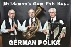 Haldeman's Oom Pah Boys Caption Pic