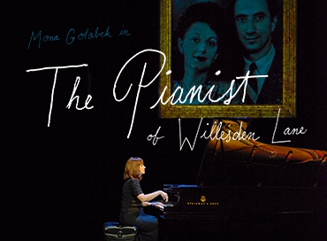 """Portland Center Stage- """"The Pianist of Willesden Lane"""" @ Portland Center Stage 
